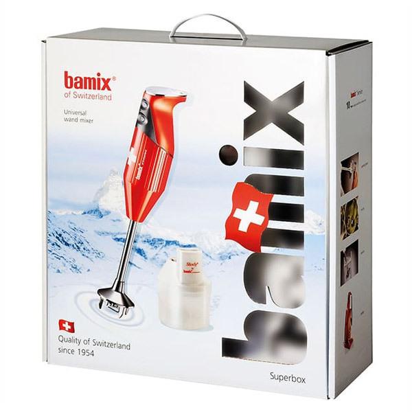 Bamix - Coffret Bamix Box Rouge 200W
