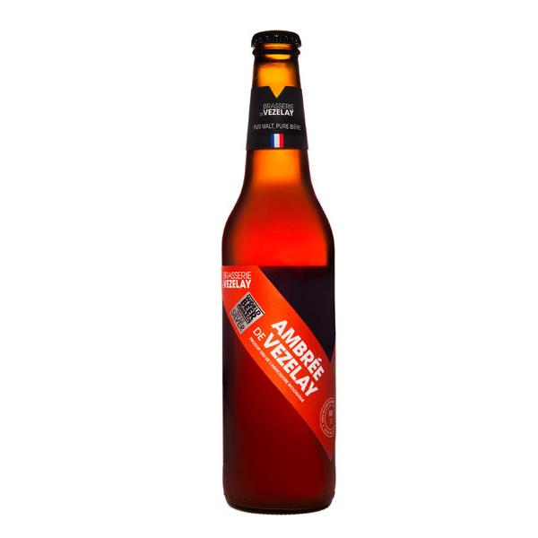 Brasserie de Vézelay - Bière ambrée de Vézelay 50cl