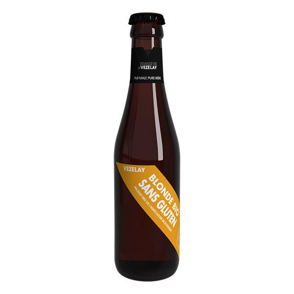 Brasserie de Vézelay - Bière de Vézelay blonde sans gluten bio 25cl