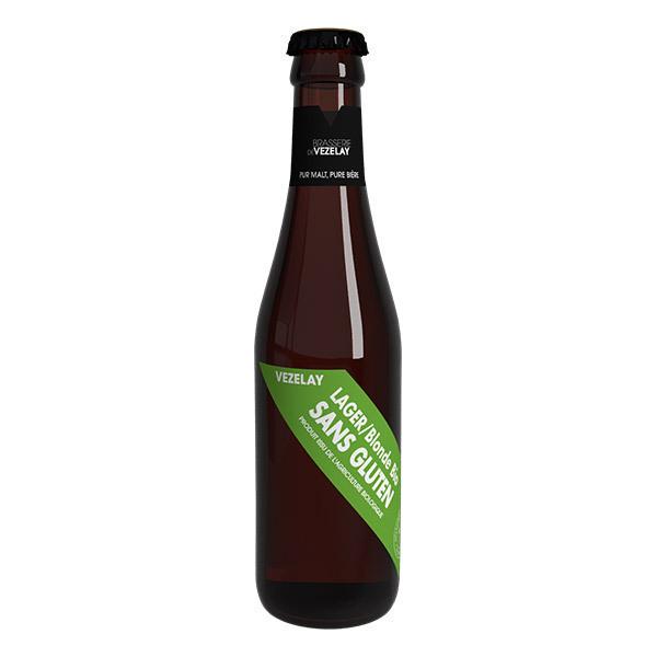 Brasserie de Vézelay - Bière de Vézelay Lager sans gluten bio 25cl