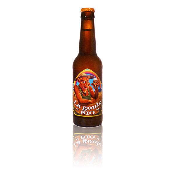 Brasserie La goule - Bière blonde La Goule Bio 33cl