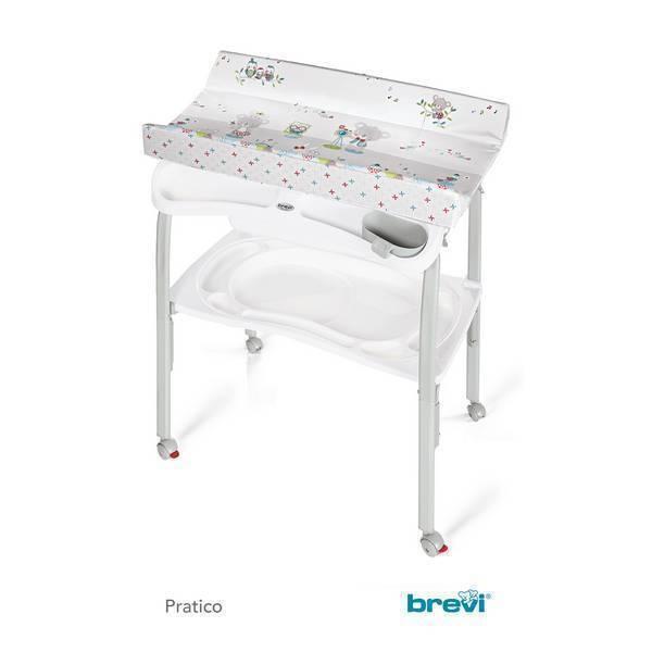 Table langer pliante baignoire pratico blanc koko - Baignoire table a langer pliante ...
