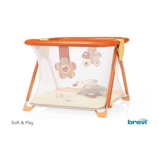 Brevi - Parc et centre d'activité Soft & Play - Love Natural Orange