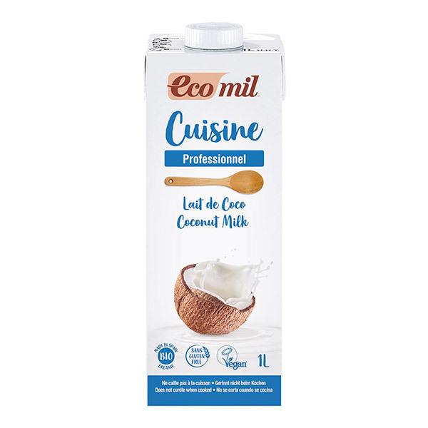 EcoMil - Lait de Coco cuisine bio - 1 L