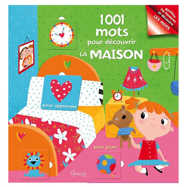 Livre 1001 mots pour d couvrir la maison editions for Decouvrir maison