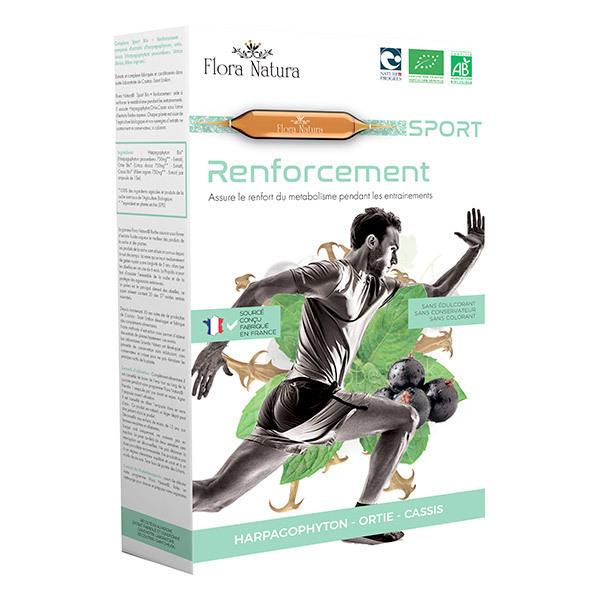 Flora Natura - Sport Bio + Renforcement - 20 ampoules