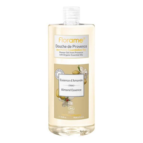 Florame - Gel douche de Provence - Essence d'amande bio - 1 l