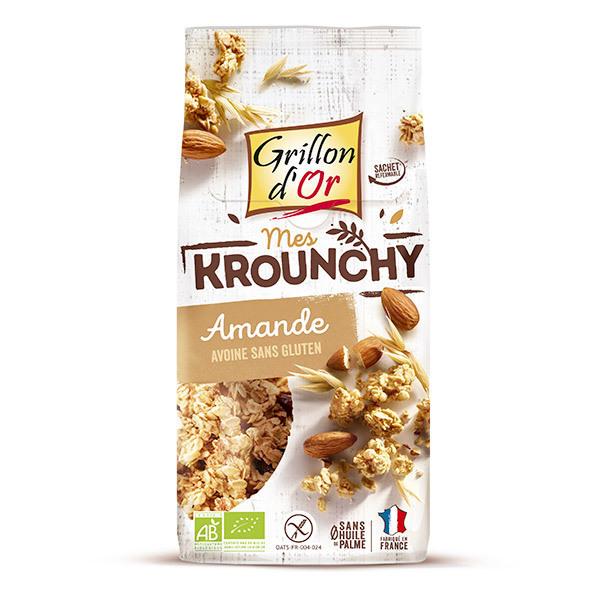Grillon d'or - Krounchy amande avoine sans gluten bio 500 g