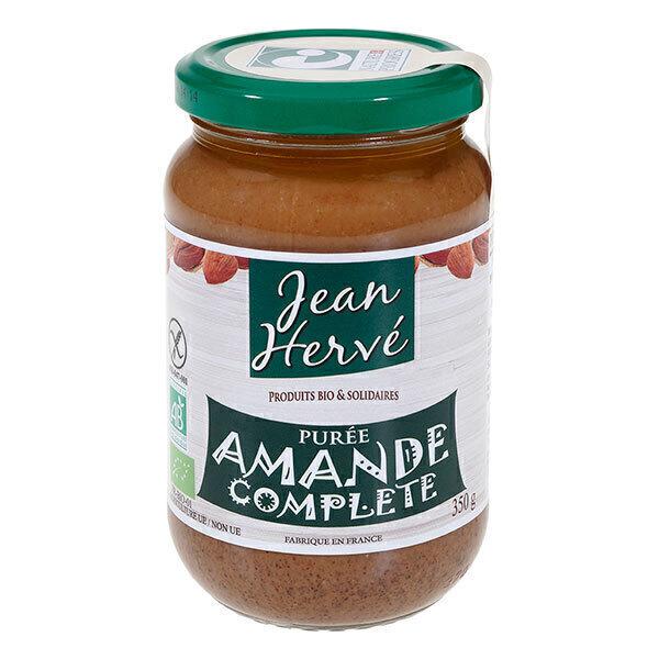 Jean Hervé - Lot de 3 purées d'amandes complètes 350g