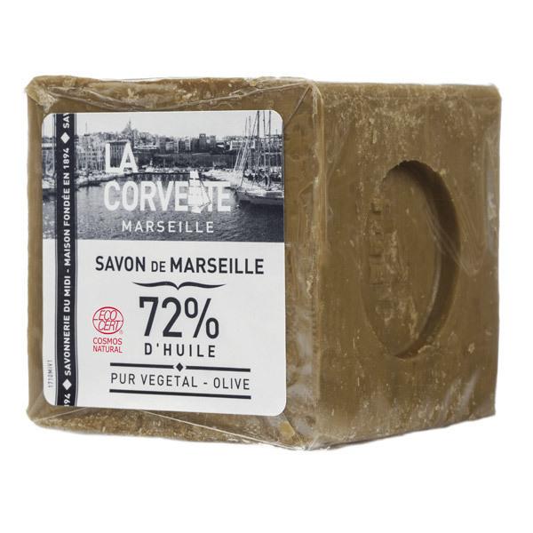 La Corvette - Lot de 3 Savon de Marseille Olive Ecocert 300g