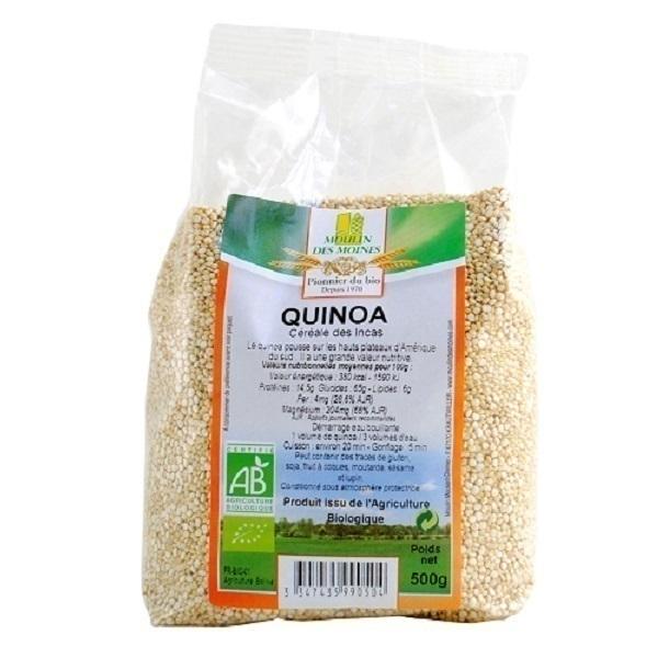 Moulin des Moines - Quinoa Blanc - 500g