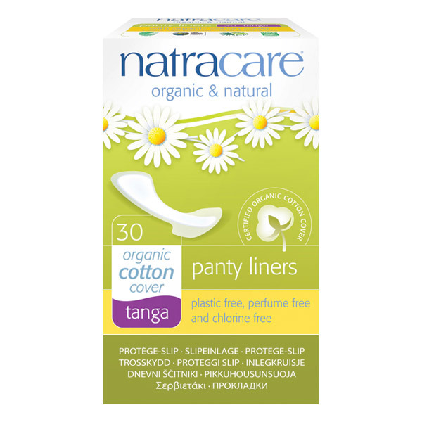 Natracare - Lot de 3 x Protège-Slips Tanga x30
