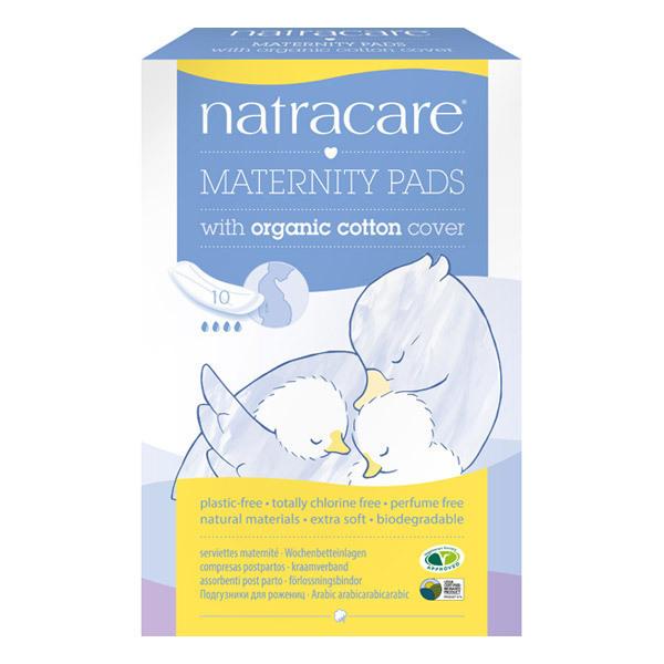 Natracare - Lot de 3 x Serviettes hygiéniques maternité x 10