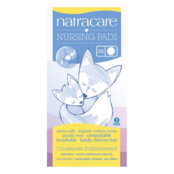 Natracare - Coussinets d'allaitement naturel x26