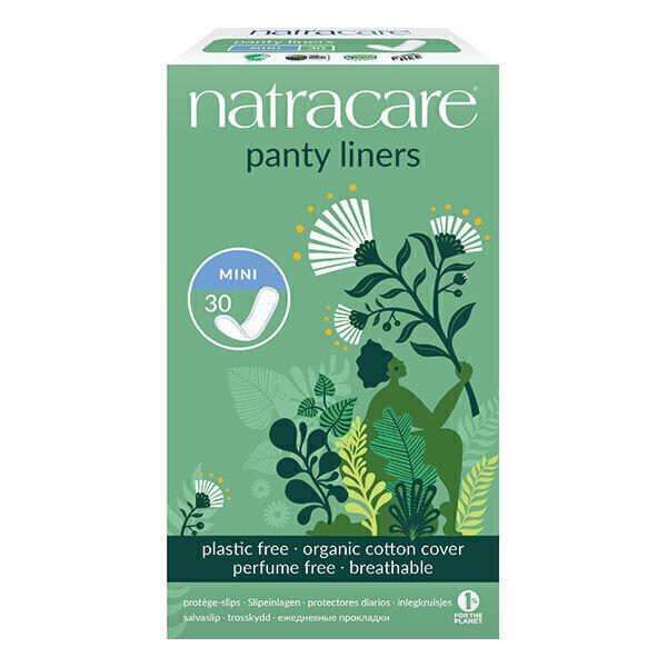 Natracare - Protège-slip naturel Mini x30