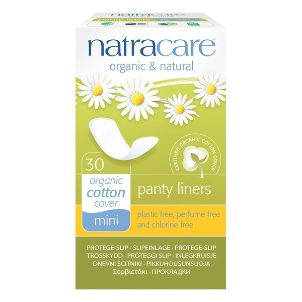 Natracare - Protège-slip naturel Mini x30