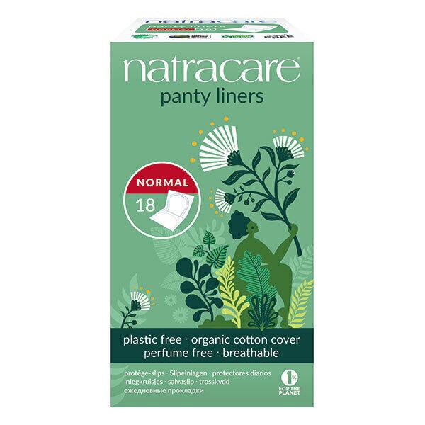 Natracare - Protège-slip Normal en pochettes x 18