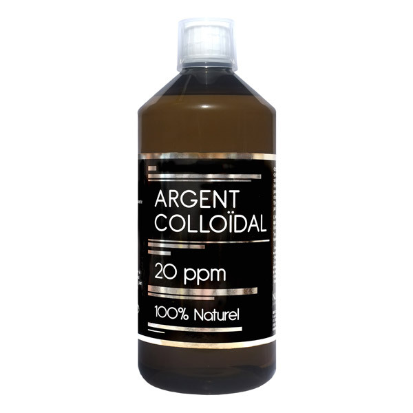 NutriVie - Argent colloïdal 20ppm 1L
