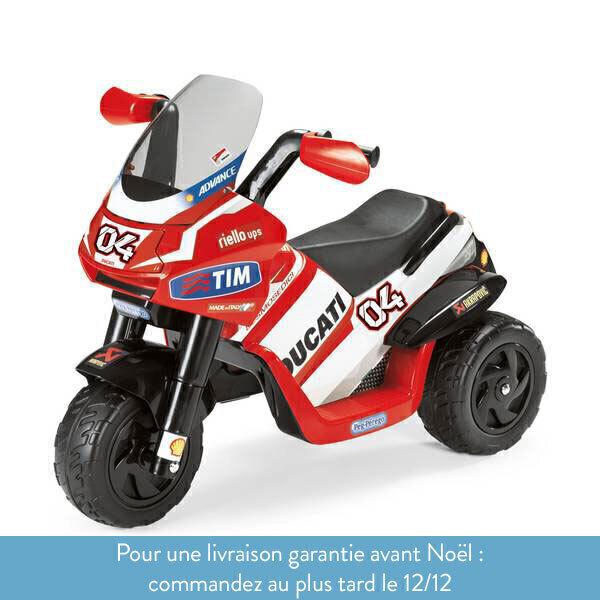 Peg Perego - Ducati Desmosedici Rider - Trimoto 6 volts - Dès 2 ans