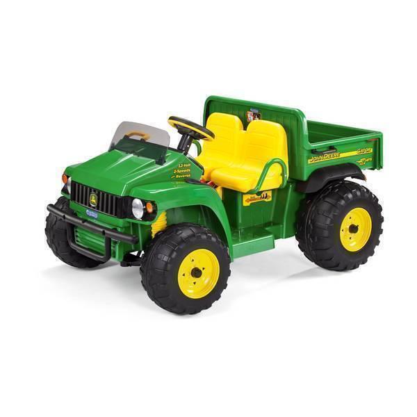 Peg Perego - John Deere Gator - Véhicule agricole 12 volts - Dès 3 ans