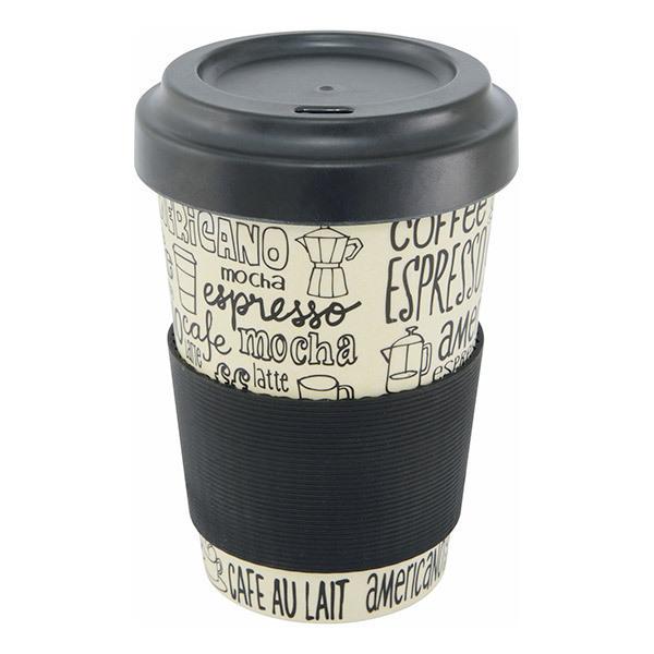 Point virgule - Mug en fibre de bambou Café 50cl