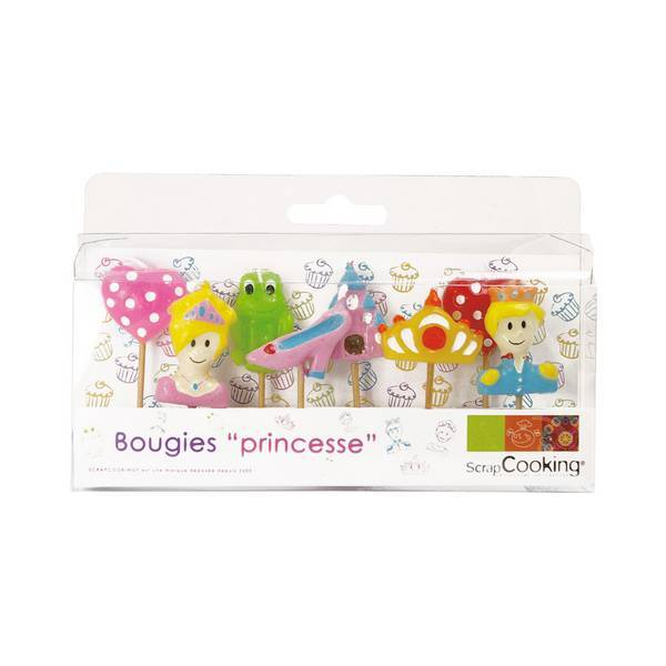 ScrapCooking - 8 bougies Princesse