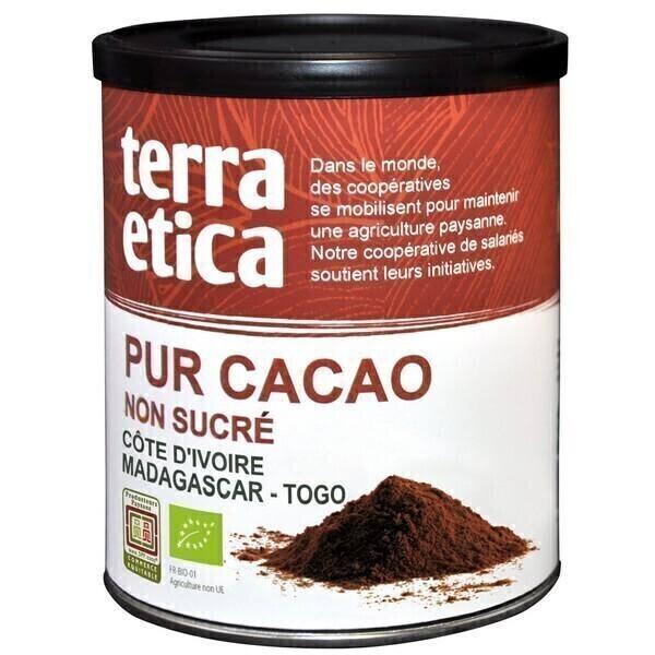 Terra Etica - Pur cacao non sucré 200g