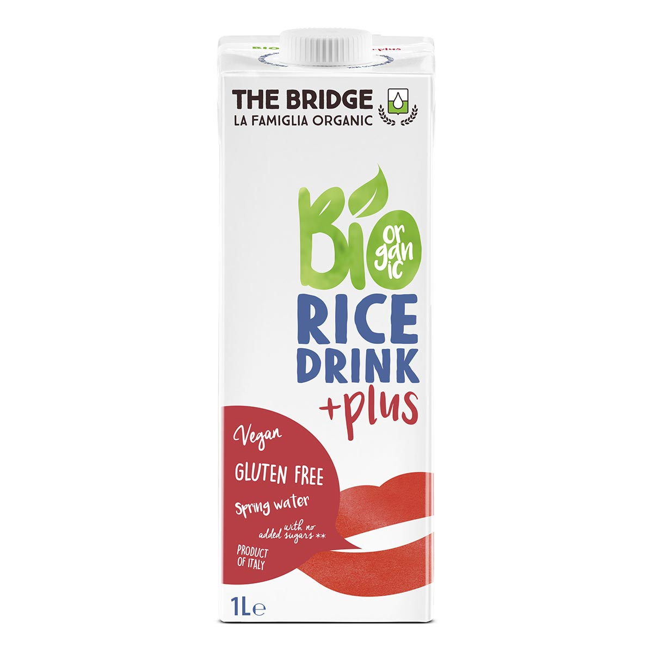The Bridge - Lot de 3 Boisson au riz Calcium - 1L