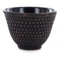 Aromandise - Tasse fonte noir et or - 80 mL