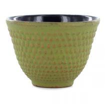 Aromandise - Tasse fonte vert et or - 80 mL