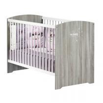 Baby Price - Lit bébé Smile 120x60cm - Chêne Silex