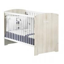 Baby Price - Lit bébé Smile 120x60cm - Hêtre Cendré
