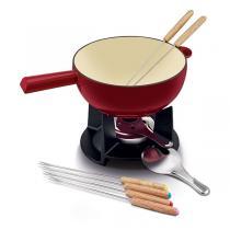 Beka - Service à fondue fromage Belledonne - 6 personnes