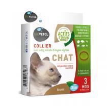 Biovetol - Collier antiparasitaire géraniol chat