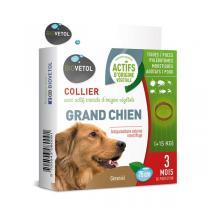 Biovetol - Collier antiparasitaire géraniol grand chien