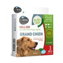 Biovetol - Collier antiparasitaire margosa chien -15kg