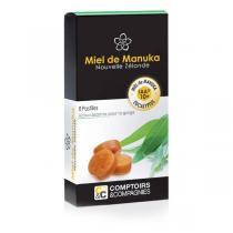 Comptoirs et Compagnies - Pastilles Miel de Manuka Eucalyptus- Boîte de 8 pastilles