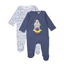 Disney Baby - Lot de 2 pyjamas Mickey - 9 à 24 mois