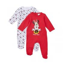 Disney Baby - Lot de 2 pyjamas Minnie - 9 à 24 mois