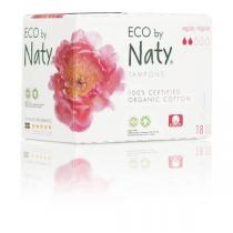 Eco by Naty - Pack 3 paquets 18 tampons - Normal digital sans applicateur
