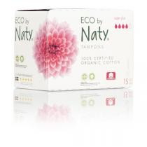 Eco by Naty - Pack 3 paquets de 15 tampons - Super + digital sans applicateur