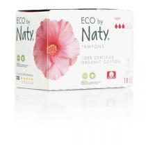 Eco by Naty - Pack 3 paquets de 18 Tampons - Super digital sans applicateur