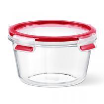 Emsa - Boîte alimentaire Clip-Close en verre ronde 95cl