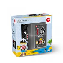 Emsa - Set Kids tritan gourde 0,4 l + clipbox pirate 16x11 cm