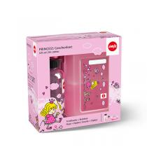 Emsa - Set Kids tritan gourde 0,4 l + clipbox princess 16x11 cm