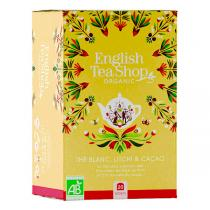 English Tea Shop - Thé Blanc Cacao Litchi - 20 sachets