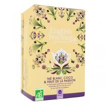 English Tea Shop - Thé Blanc Coco Fruit de la Passion - 20 sachets