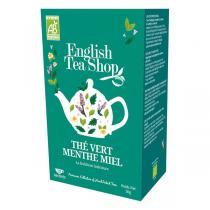 English Tea Shop - Thé Vert Menthe Miel - 20 sachets