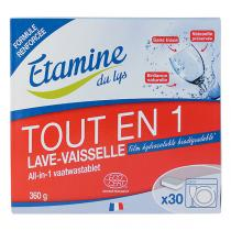 Etamine du Lys - Tablettes lave-vaisselle Tout-en-un x30