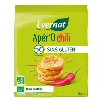 Evernat - Apér'O Chili bio et sans gluten - 40 g